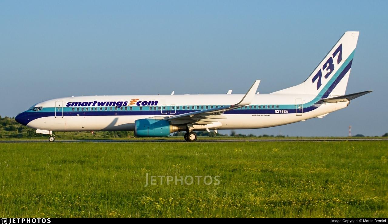 N276EA - Boeing 737-8AL - SmartWings (Swift Air)