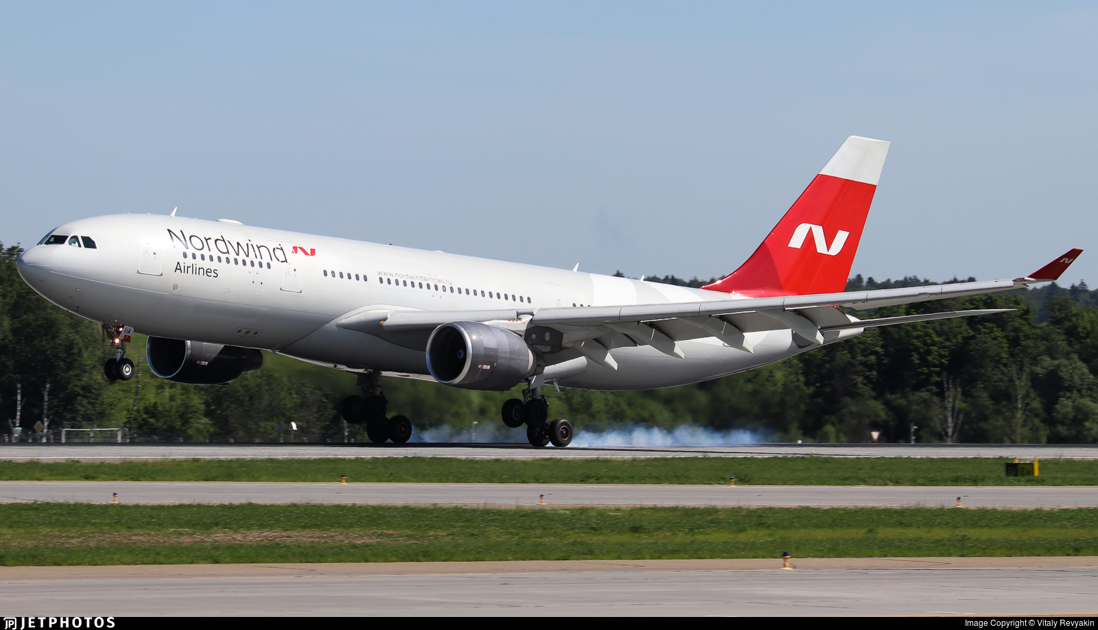 VP-BUA - Airbus A330-223 - Nordwind Airlines