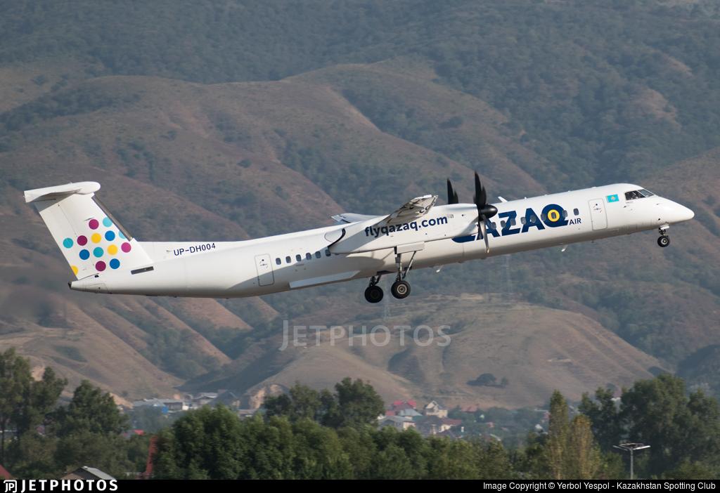 UP-DH004 - Bombardier Dash 8-Q402 - Qazaq Air