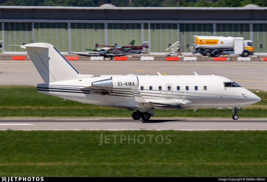 EI-KMA - Bombardier CL-600-2B16 Challenger 604 - Gainjet Ireland