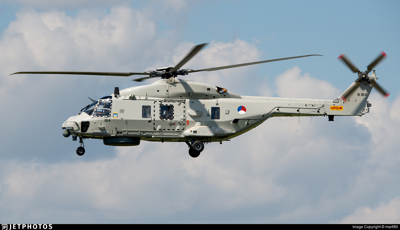 N-164 - NH Industries NH-90NFH - Netherlands - Navy
