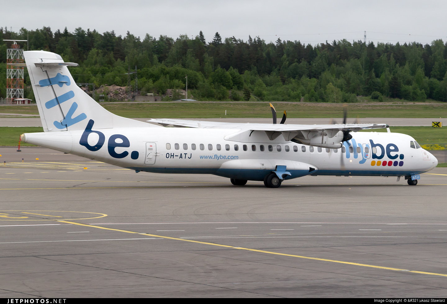 OH-ATJ - ATR 72-212A(500) - Flybe Nordic