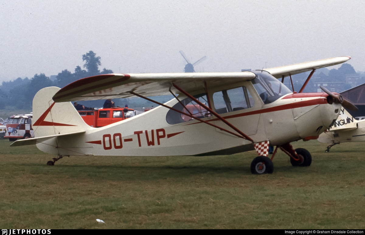 OO-TWP - Aeronca 7AC Champion - Private