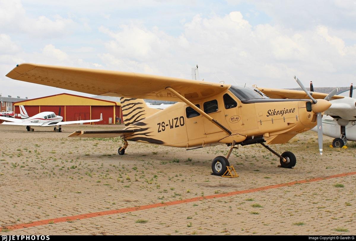 ZS-WZO - Atlas AL-60C-4M Kudu - Private