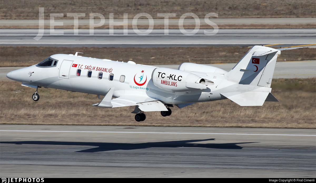 TC-KLC - Bombardier Learjet 60 - Turkey - Ministry of Health