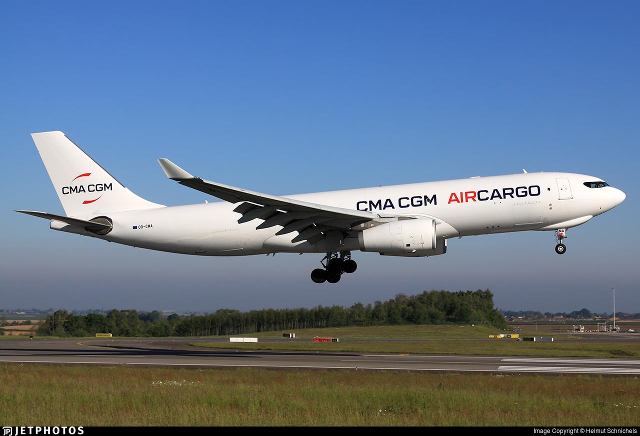 OO-CMA - Airbus A330-243F - CMA CGM Aircargo (Air Belgium)