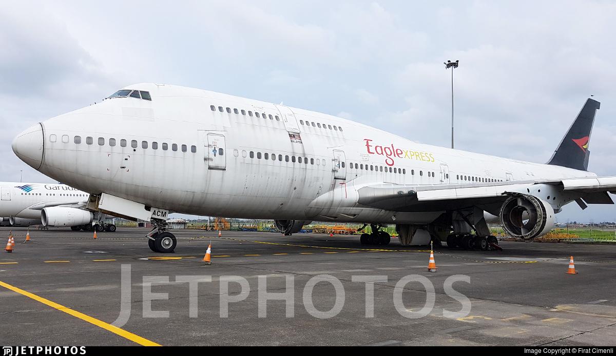 9M-ACM - Boeing 747-428 - Eaglexpress Air Charter
