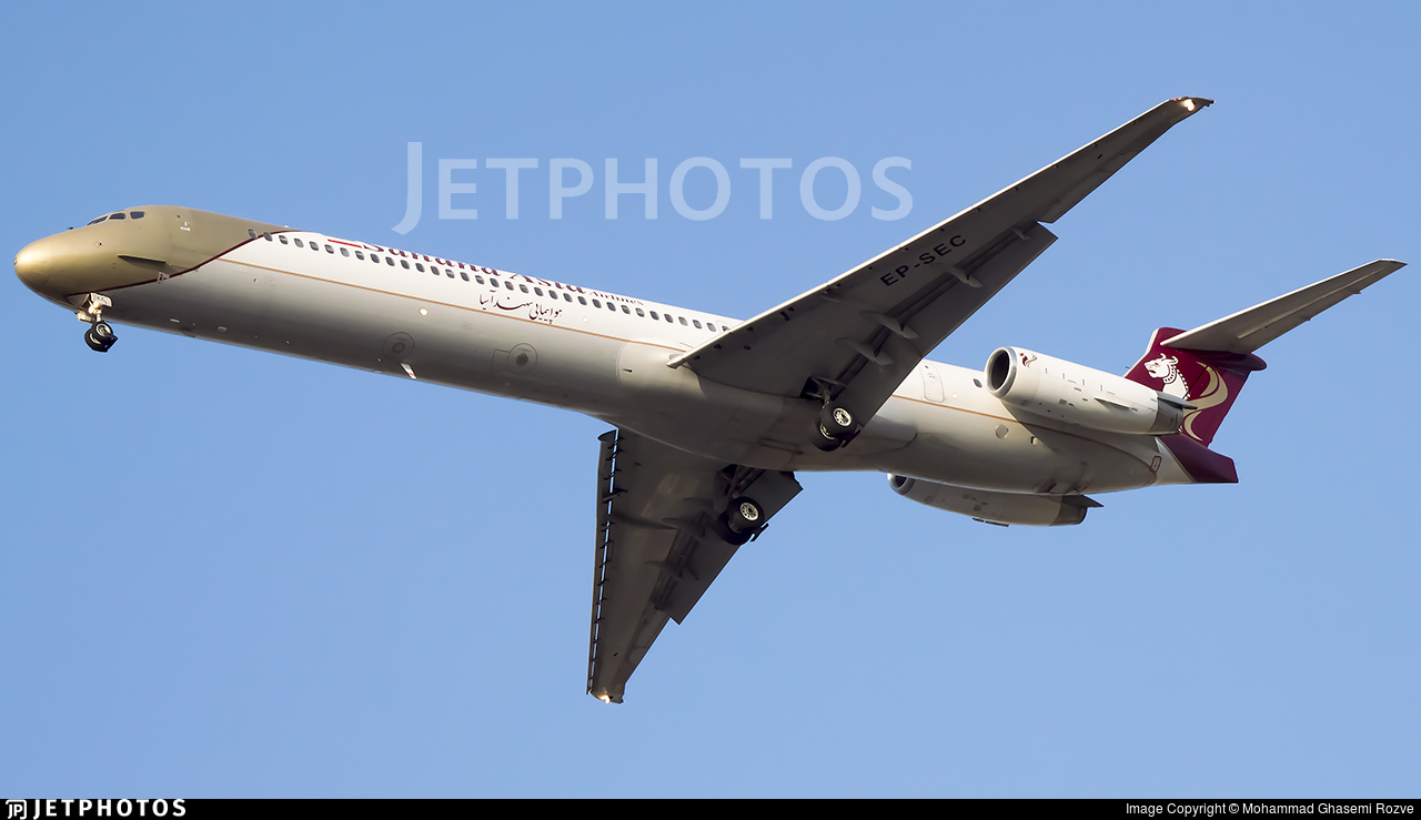 EP-SEC - McDonnell Douglas MD-82 - Sahand Asia Airlines
