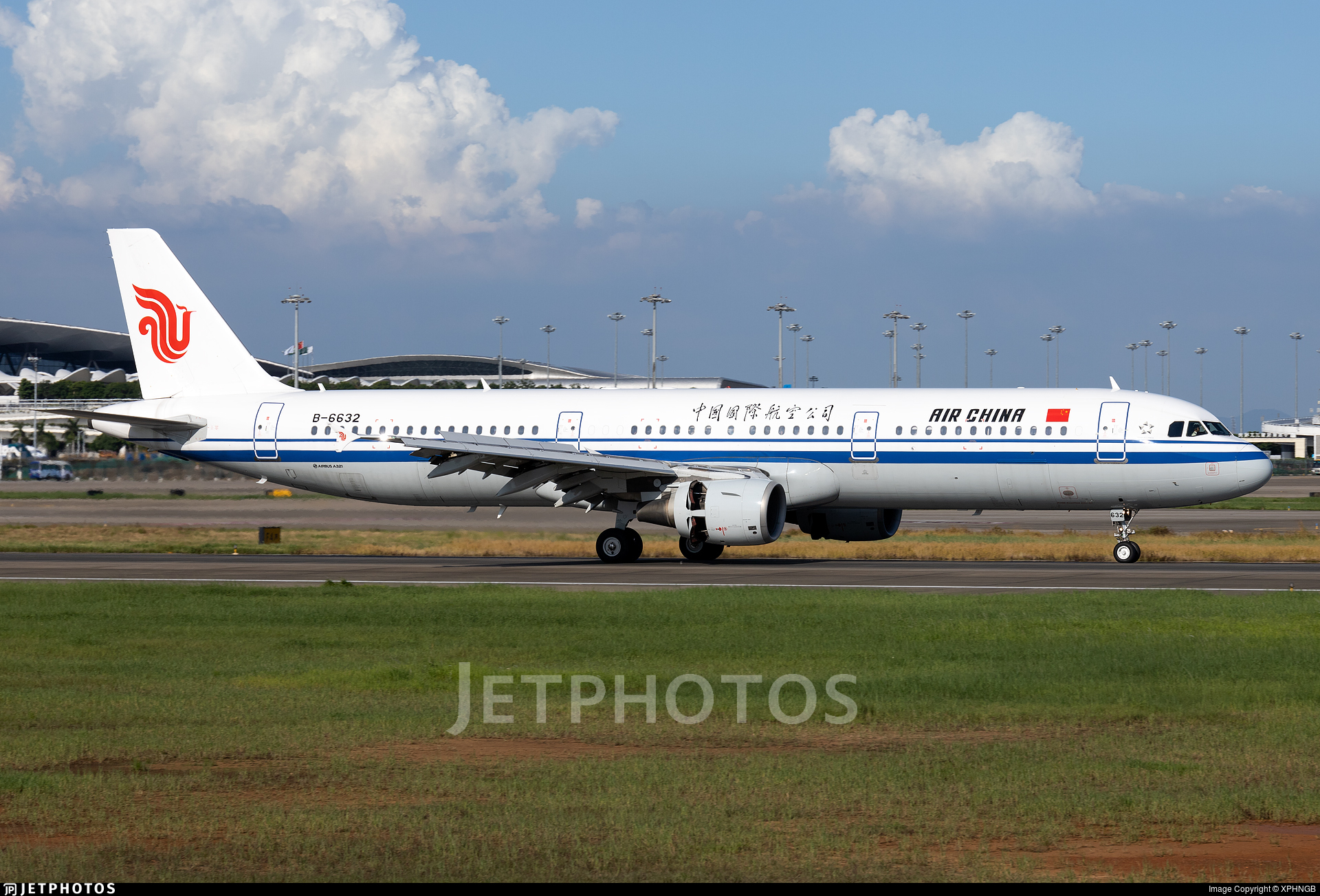 B-6632 - Airbus A321-213 - Air China