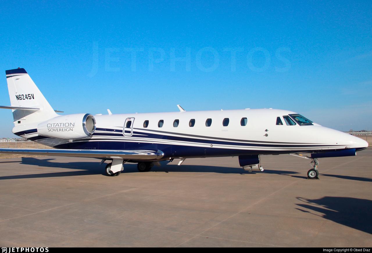 N624SV - Cessna 680 Citation Sovereign - Private