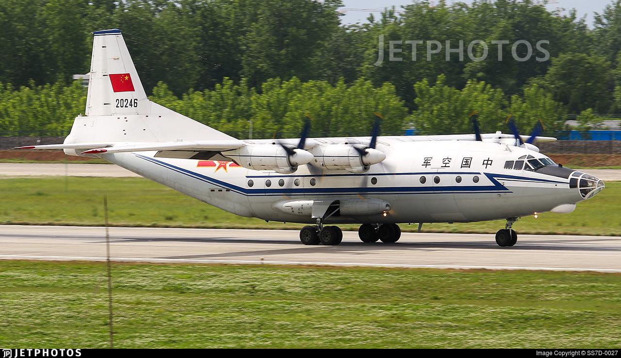 20246 - Shaanxi Y-8C - China - Air Force