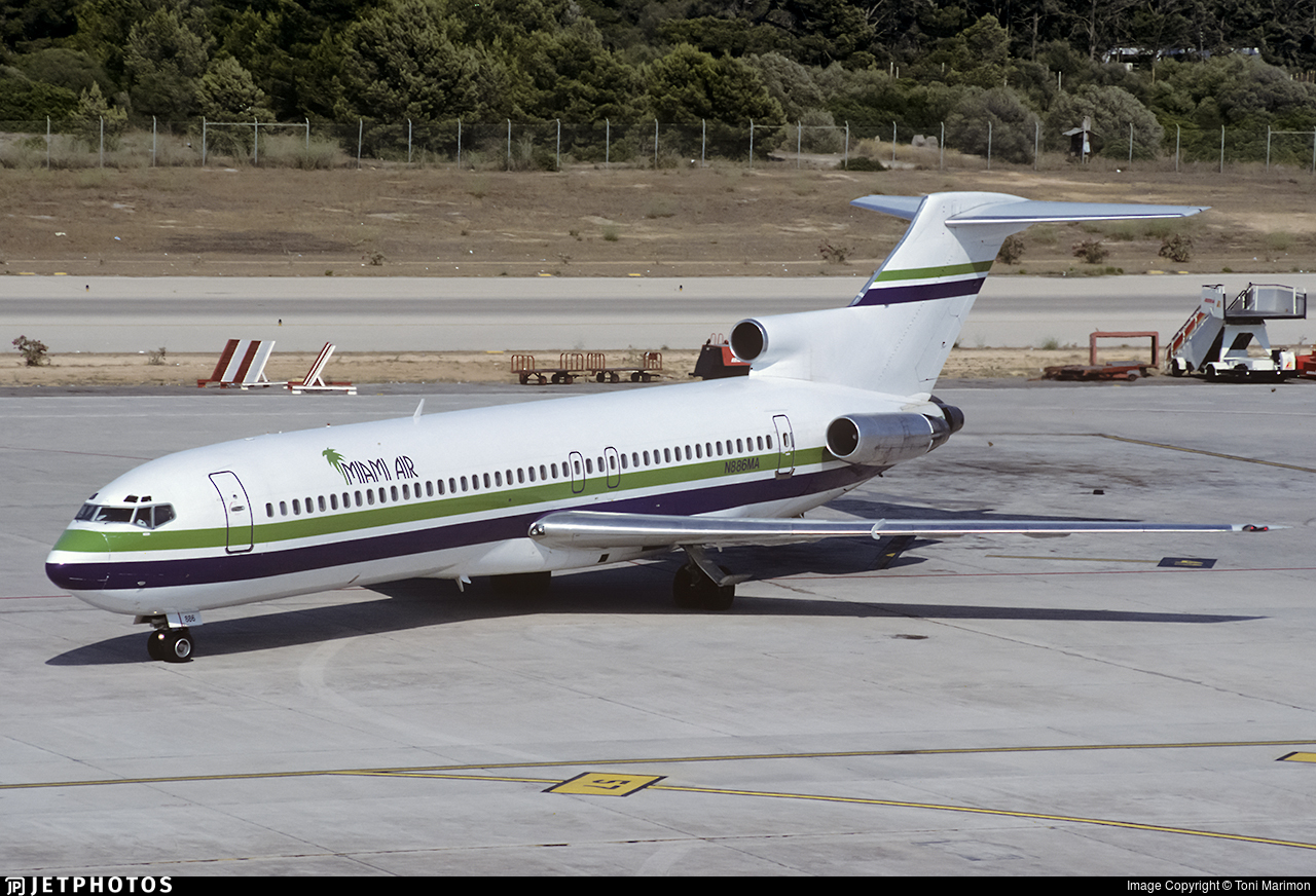 N886MA | Boeing 727-225(Adv) | Miami Air International