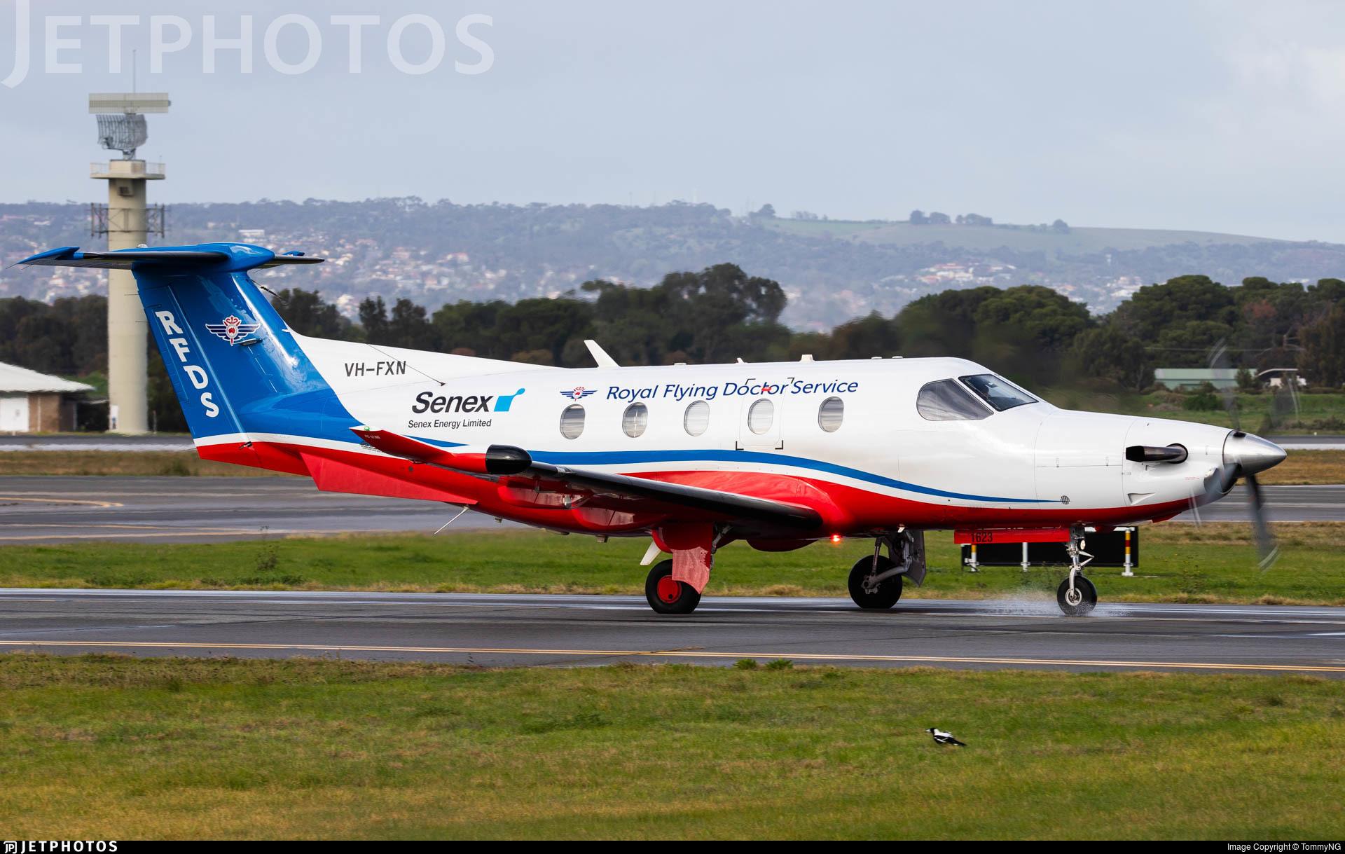 VH-FXN - Pilatus PC-12/47E - Royal Flying Doctor Service of Australia (SE Section)