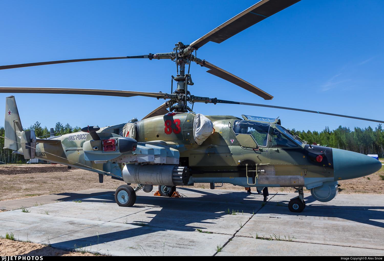 RF-13422 - Kamov Ka-52 Alligator - Russia - Air Force