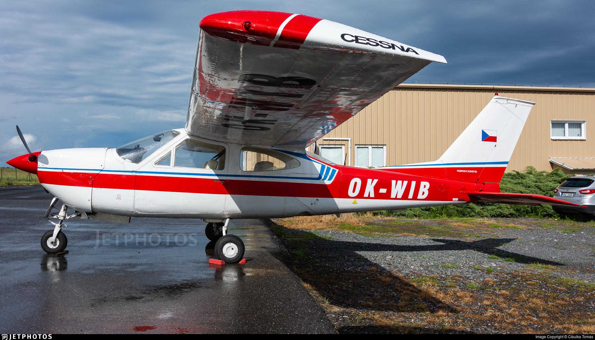 OK-WIB - Reims-Cessna F177RG Cardinal RG - Aerotaxi