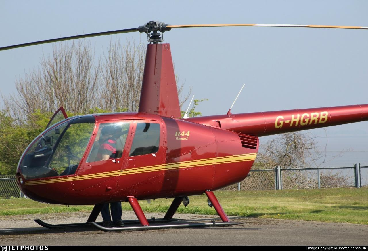 G-HGRB - Robinson R44 Raven - Private