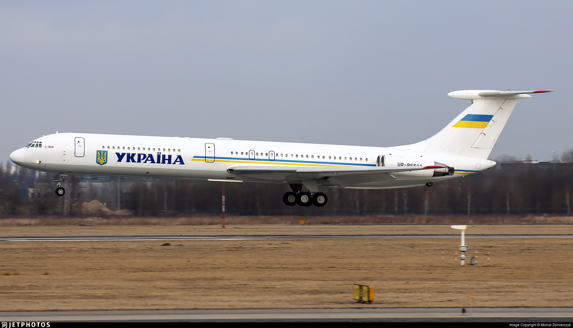 UR-86528 - Ilyushin IL-62M - Ukraine - Government