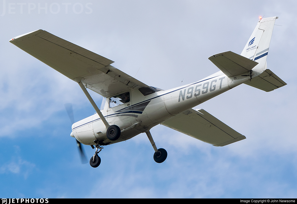 N959GT - Cessna 152 - Inflight Pilot Training