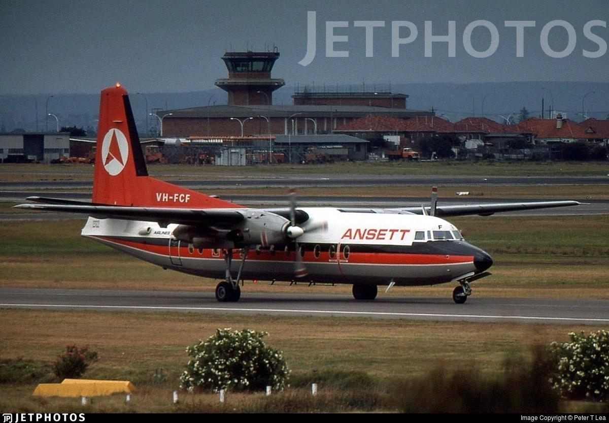 VH-FCF - Fokker F27-500 Friendship - Ansett Airlines of Australia