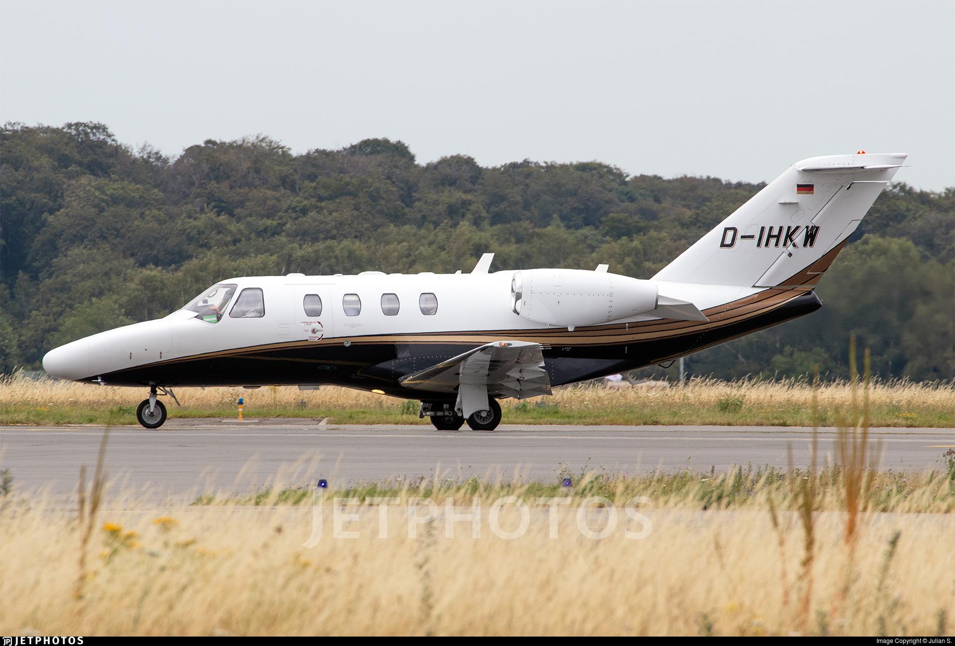 D-IHKW - Cessna 525 CitationJet 1 Plus - Blissair