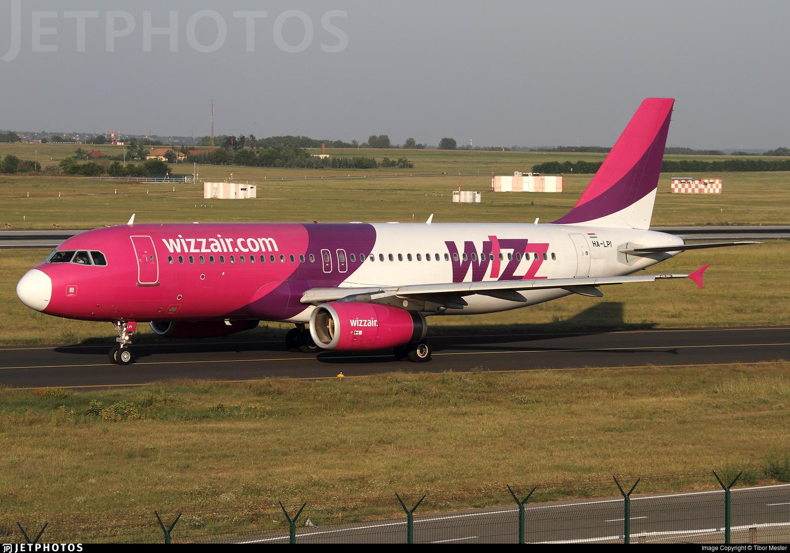 HA-LPI - Airbus A320-232 - Wizz Air