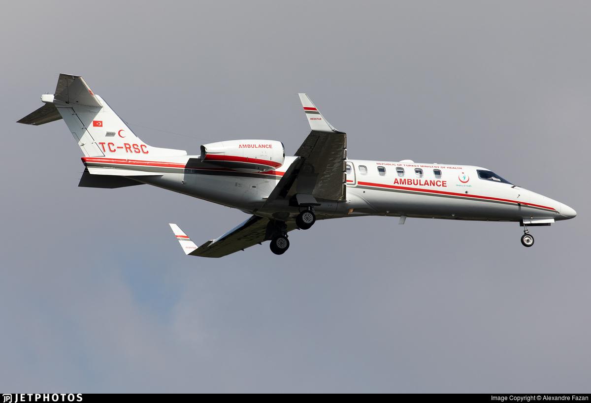TC-RSC - Bombardier Learjet 45 - Turkey - Ministry of Health