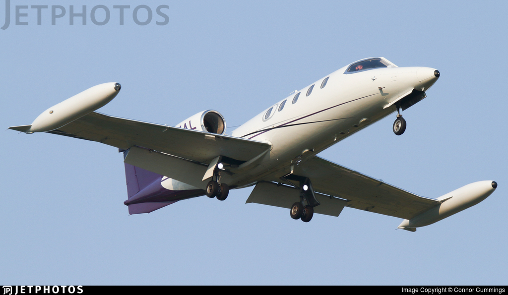 N991AL - Gates Learjet 35A - Private