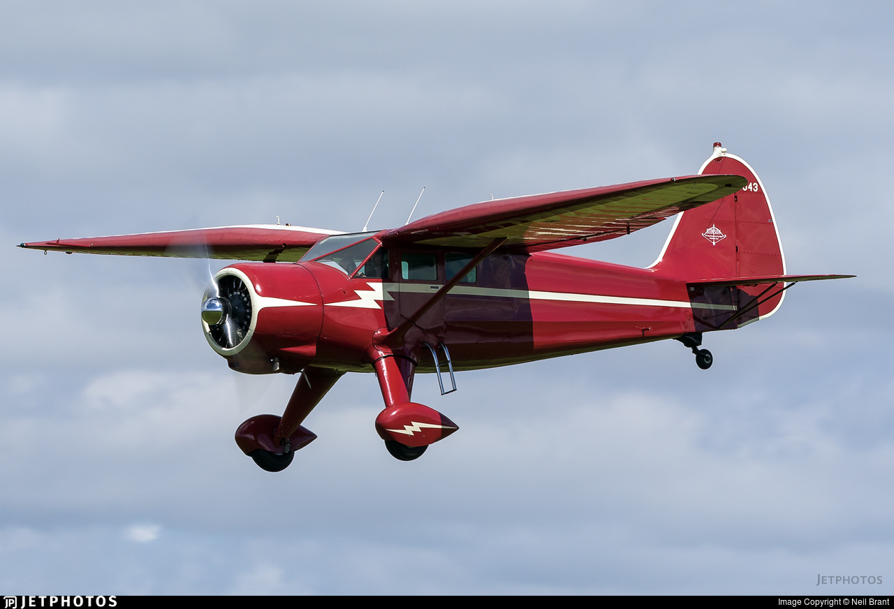 NC33543 - Stinson V-77 Reliant - Private