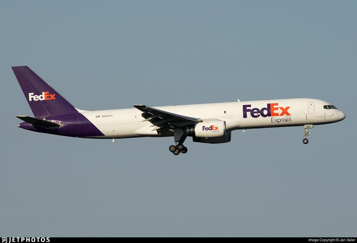 N968FD - Boeing 757-28A(SF) - FedEx