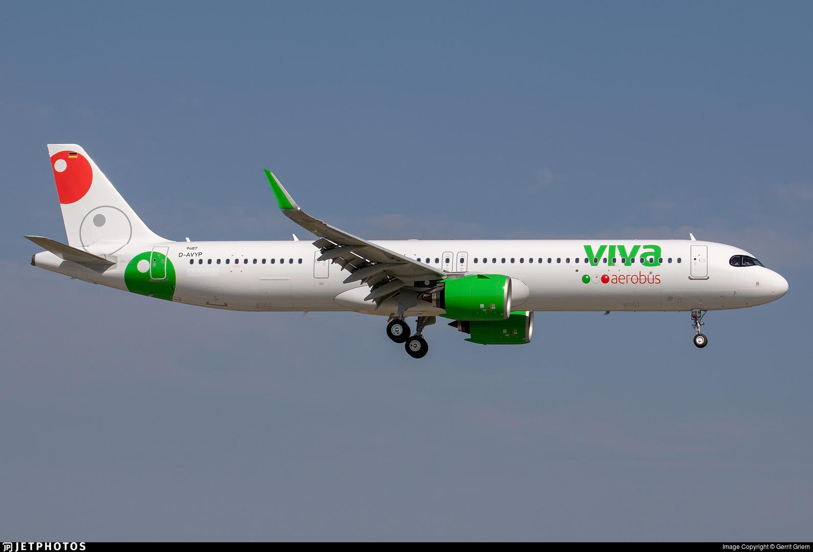D-AVYP - Airbus A321-271NX - VivaAerobus