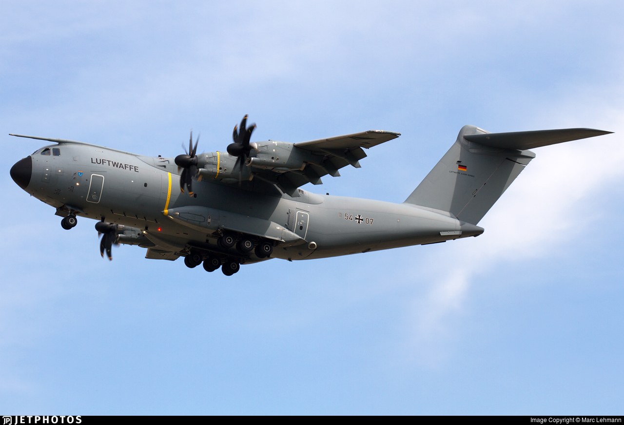 54-07 - Airbus A400M - Germany - Air Force