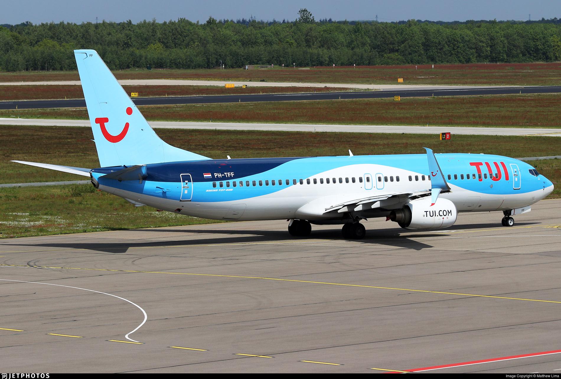 PH-TFF - Boeing 737-86N - TUI