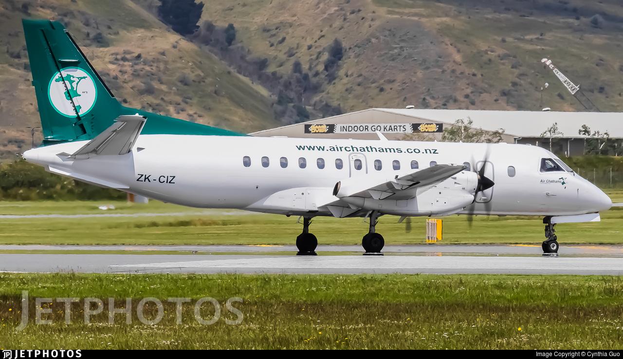 ZK-CIZ - Saab 340B - Air Chathams