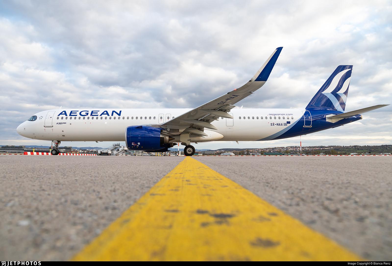 SX-NAA - Airbus A321-271NX - Aegean Airlines