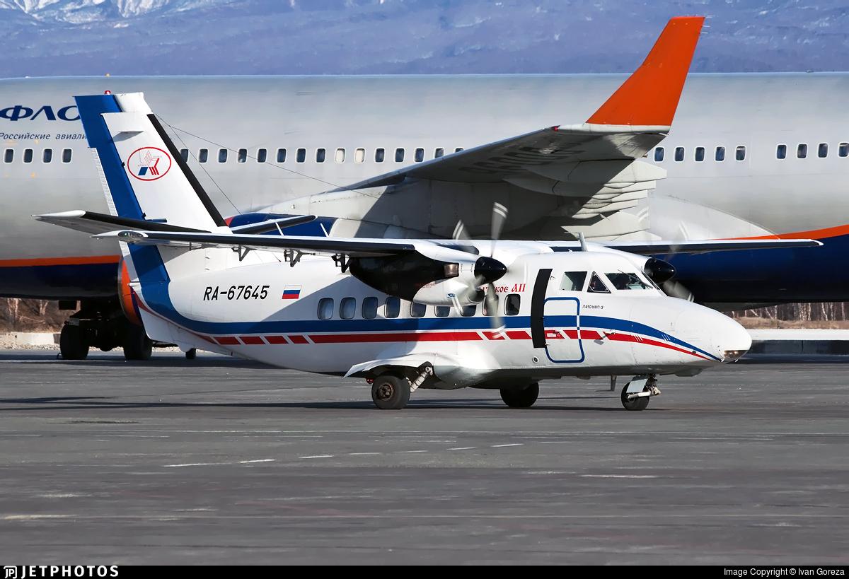 RA-67645 - Let L-410UVP Turbolet - Petropavlovsk-Kamchatskoe Aviation Enterprise