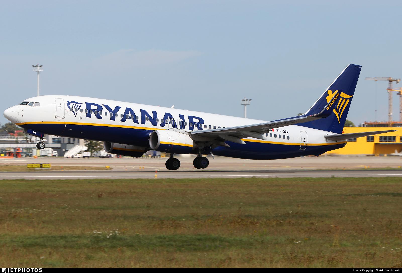 9H-QEE - Boeing 737-8AS - Ryanair (Malta Air)
