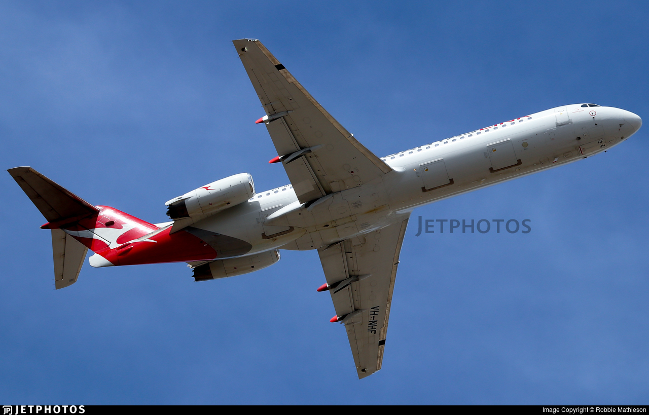 VH-NHF - Fokker 100 - QantasLink (Network Aviation)