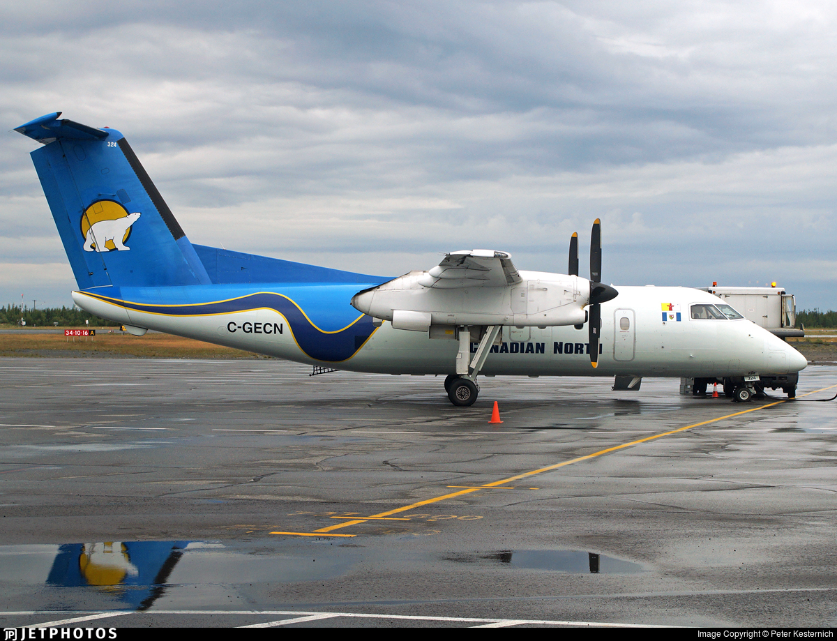 C-GECN - Bombardier Dash 8-106 - Canadian North