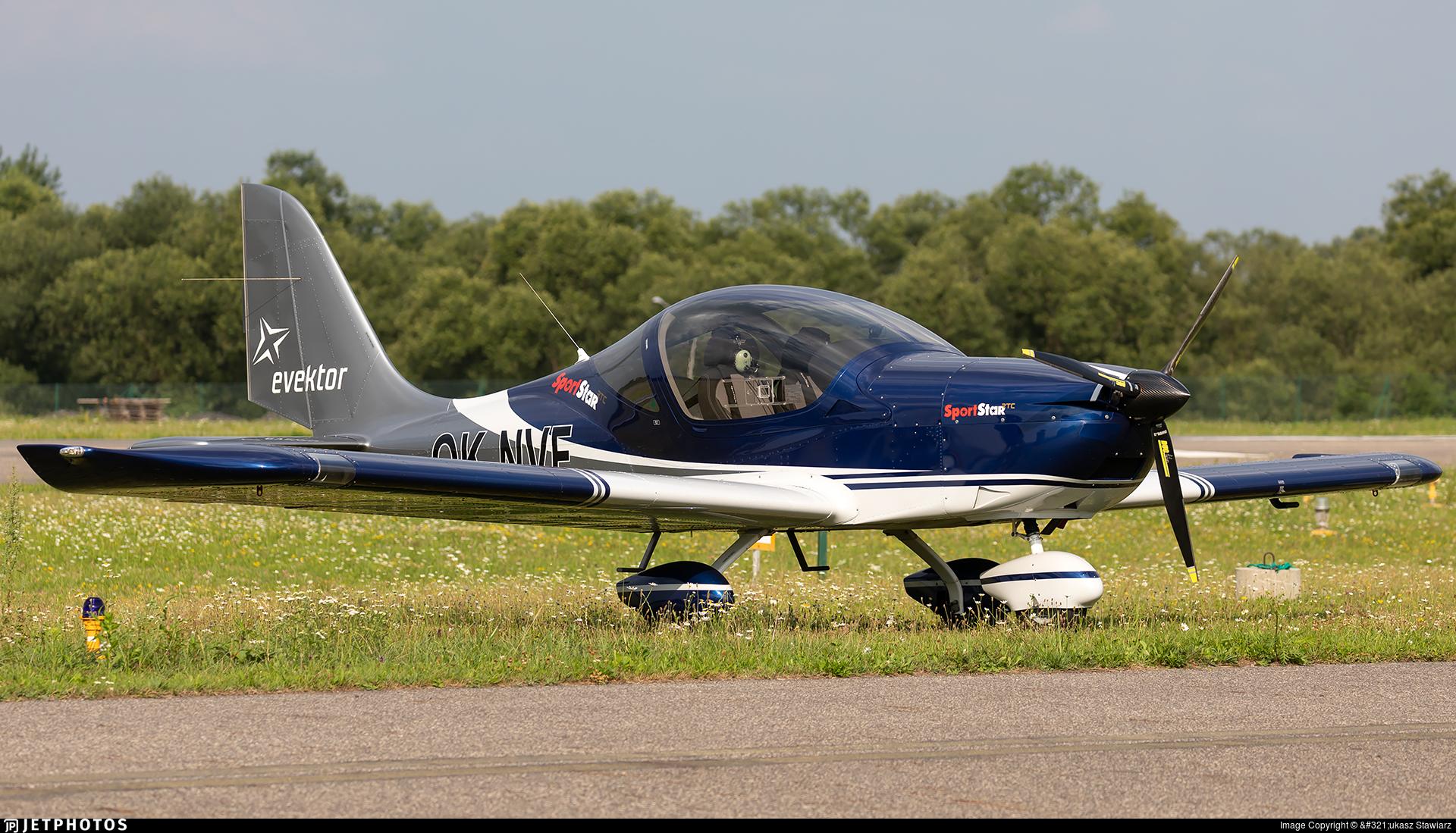 OK-NVF - Evektor SportStar RTC - Evektor-Aerotechnik