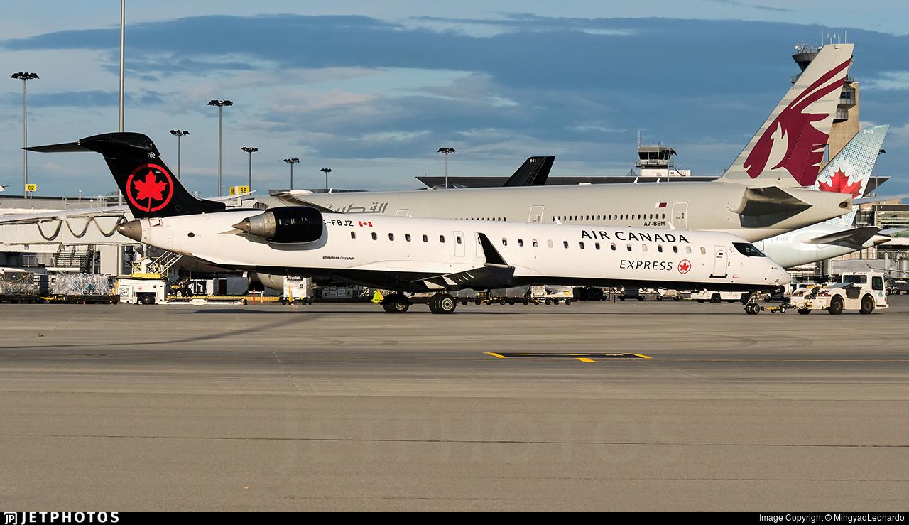 C-FBJZ - Bombardier CRJ-900LR - Air Canada Express (Jazz Aviation)