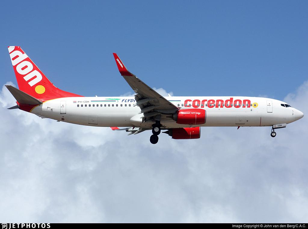PH-CDH - Boeing 737-86J - Divi Divi Air (Corendon Dutch Airlines)