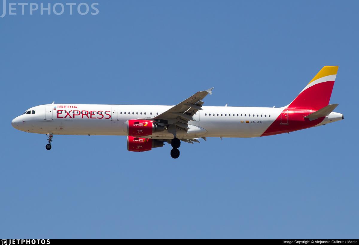 EC-JDR - Airbus A321-211 - Iberia Express