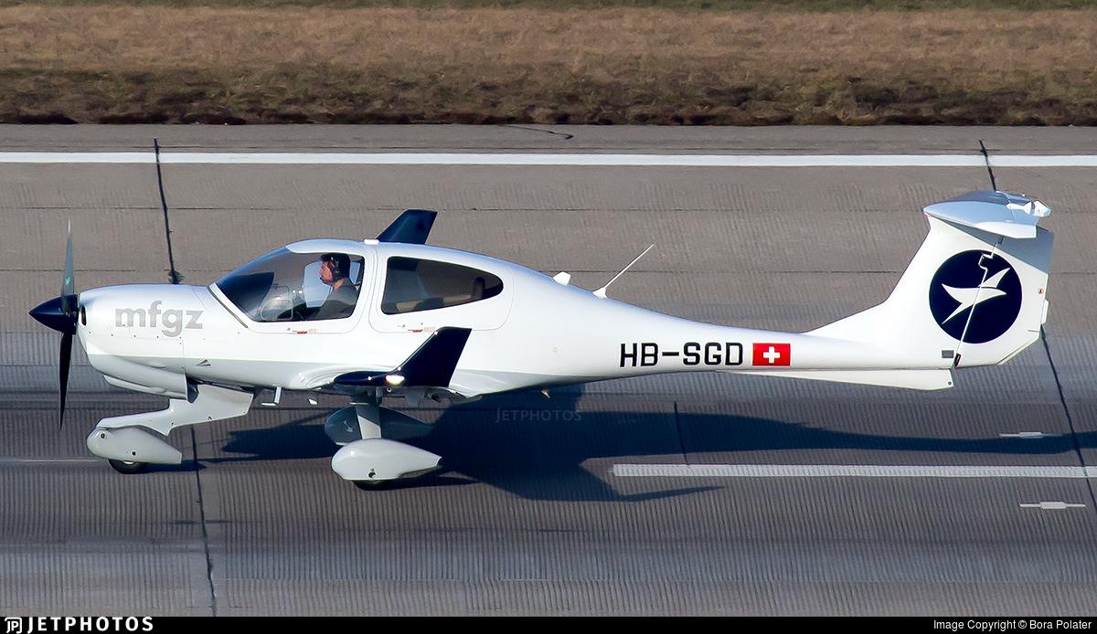 HB-SGD - Diamond DA-40NG Diamond Star - Motorfluggruppe Zurich
