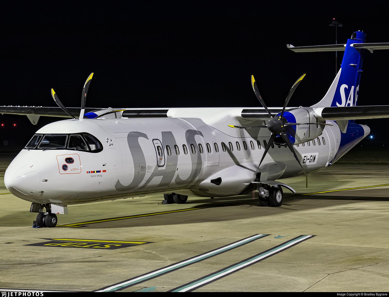 EI-GIW - ATR 72-212A(600) - Scandinavian Airlines (Nordica)