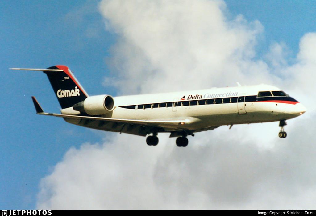 N988CA - Bombardier CRJ-100ER - Delta Connection (Comair)