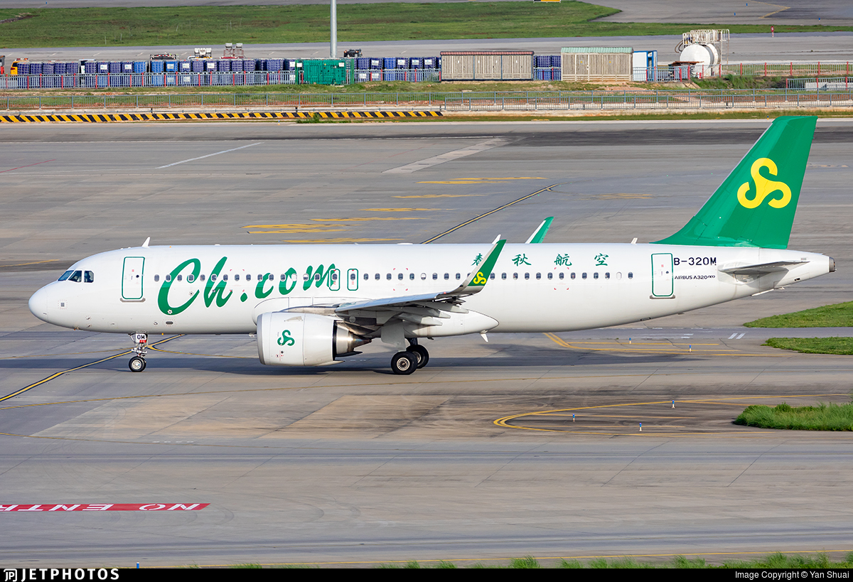 B-320M - Airbus A320-251N - Spring Airlines