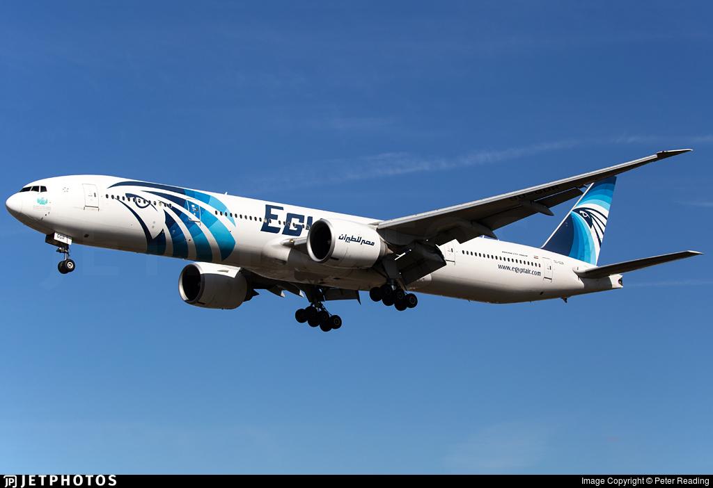 SU-GDR - Boeing 777-36NER - EgyptAir