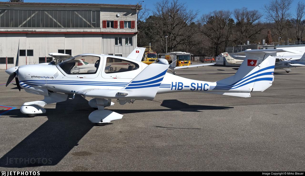 HB-SHC - Diamond DA-40NG Diamond Star - Fliegerschule St.Gallen-Altenrhein