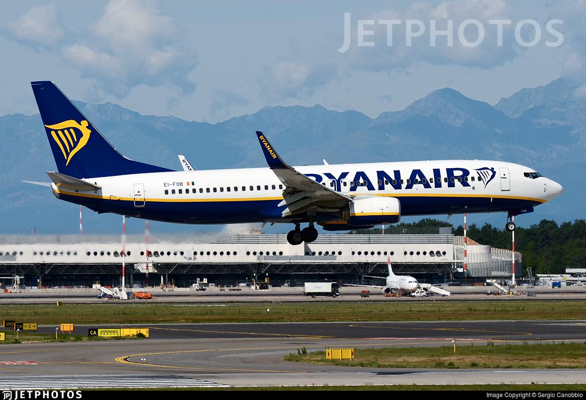 EI-FOB - Boeing 737-8AS - Ryanair