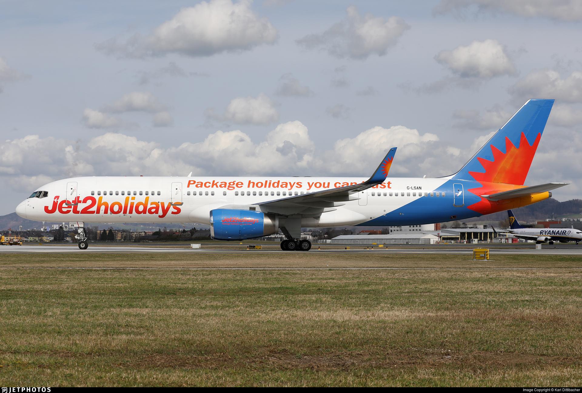 G-LSAN - Boeing 757-2K2 - Jet2.com